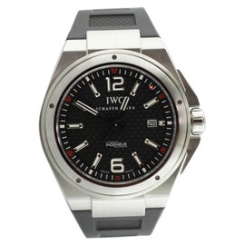 IWC Ingenieur IW323601 Stainless Steel & Rubber 45.5mm Watch