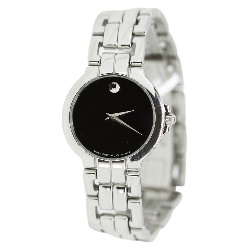 """Image of """"Movado Stainless Steel Ladies Museum Watch"""""""