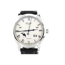 Glashutte Original W10002221205 Stainless Senator Perpetual Mens Watch