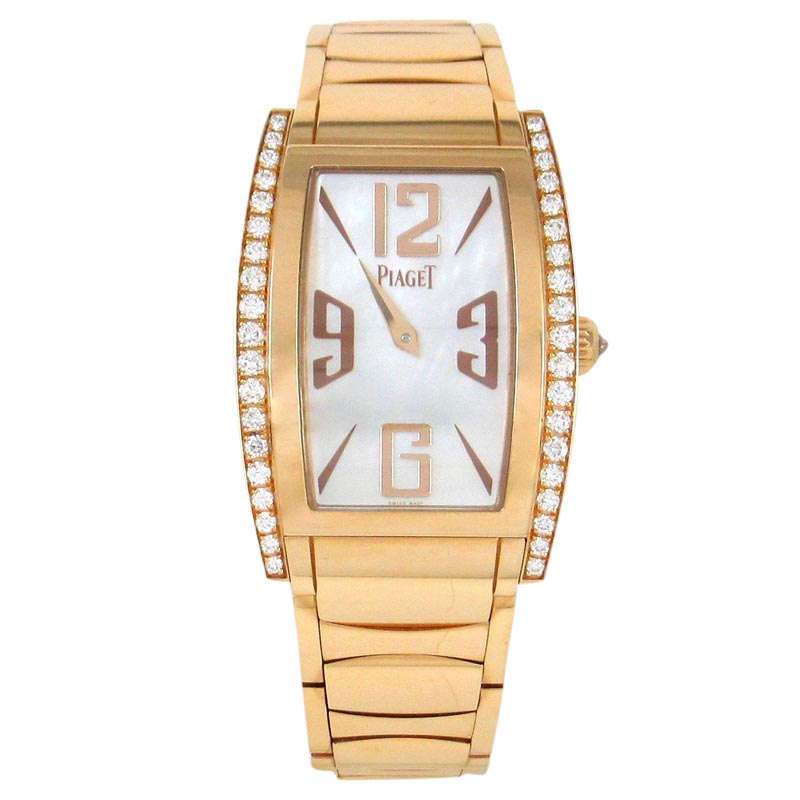 """Image of """"Piaget Limelight G0A32094 18K Rose Gold 38mm Womens Watch"""""""