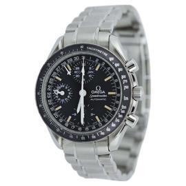 Omega Speedmaster 35205000 Triple Date Heritage Luminova Mens Watch