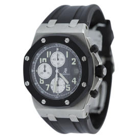 Audemars Piguet Royal Oak Offshore 2594SK.OO.D002CA.01 Rubber Clad Black Dial Watch