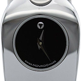 Movado Tiema Museum Stainless Steel Timepiece Womens Watch