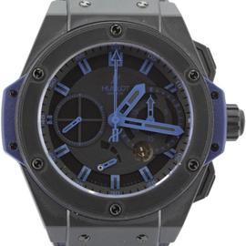 Hublot King Power Vendome 709.C1.1190.GR.ABB10 Blue Black Chronograph Watch