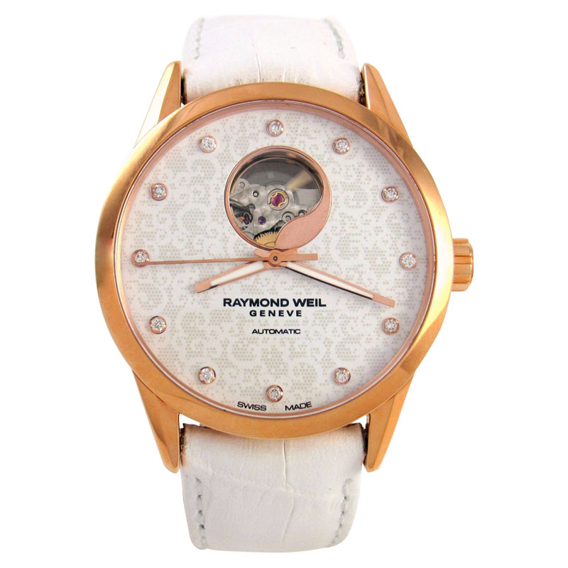 """Image of """"Raymond Weil Freelancer 2750-Pc5-30081 Rose Gold-Tone Stainless Steel"""""""