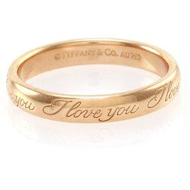 Tiffany & Co. 18K Rose Gold Band Ring Size 4.25