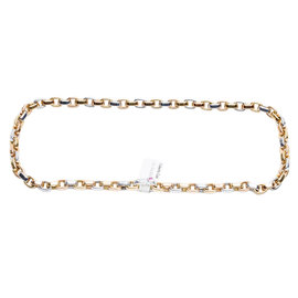 Roberto Coin 18K White and Yellow Gold Chain