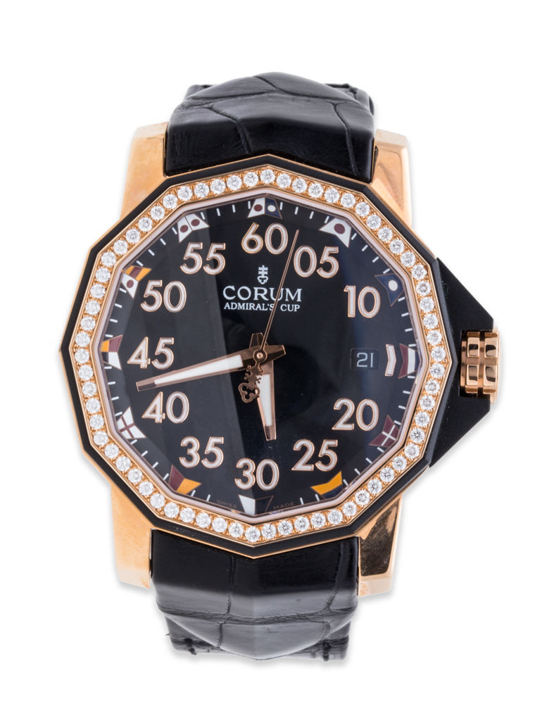 """Image of """"Corum Admirals Cup Competition 082.954.85/0081 Pn33 18K Rose Gold 40mm"""""""