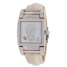 de Grisogono Instrumento UNO 18K White Gold Watch