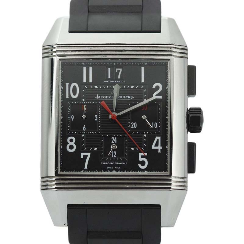 "Image of ""Jaeger LeCoultre Reverso Squadra 230.8.45 Stainless Steel & Rubber"""