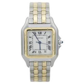 Cartier Santos Galbee CC738322 Stainless Steel & 18K Yellow Gold 27mm Watch