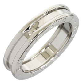 Bulgari B.Zero 18K White Gold Band Ring