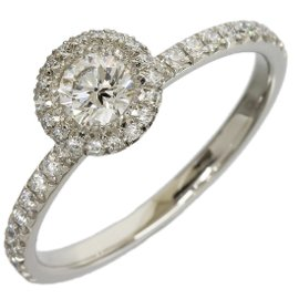 Piaget 950 Platinum 0.30ct Diamond Passion Ring Size 7