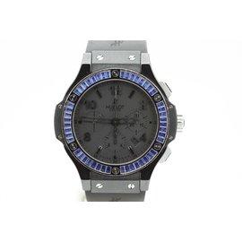 Hublot Big Bang Blue Ceramic & Rubber 44mm Watch