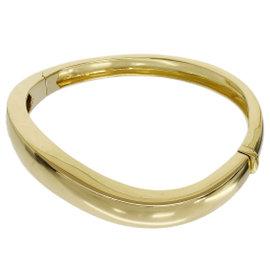Chaumet 18K Yellow Gold Bangle Bracelet