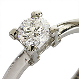 Harry Winston Platinum 0.56ct Diamond Ring Size 6.25