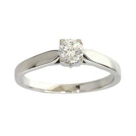 Van Cleef & Arpels 950 Platinum 0.33ct Diamond Ring Size 6