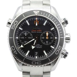 Omega Seamaster Planet Ocean 23230465101003 Chronograph Stainless Steel Mens Watch