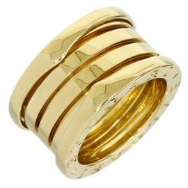 Bulgari 18K Yellow Gold B.ZERO1 4-Band Ring Size 4.25