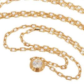 Cartier 18K Rose Gold & Diamond Necklace