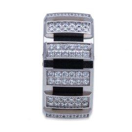 Chaumet 18k White Gold 1.40Ct Diamond Ring