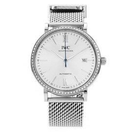 IWC Portofino 18K White Gold / Stainless Steel 40mm Womens Watch