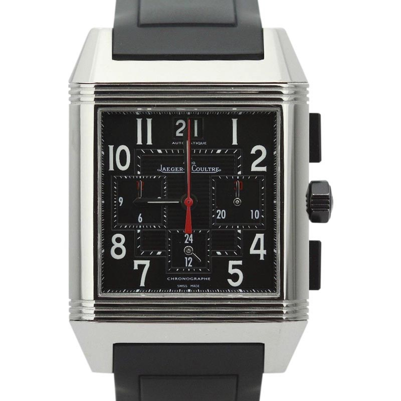 "Image of ""Jaeger LeCoultre Reverso Squadra Q701867P Stainless Steel & Rubber"""