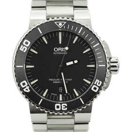Oris Aquis Date Diver 733-7653-4154 Stainless Steel 43mm Mens Watch