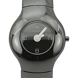 Rado Xeramo 160.0453.3 High Tech Ceramic Black Dial Quartz 37mm Mens Watch