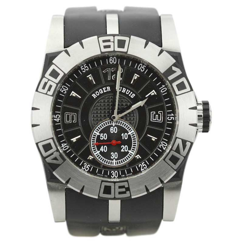 "Image of ""Roger Dubuis Easy Diver SED 46.14.c9.ncp.g91 Stainless Steel & Rubber"""