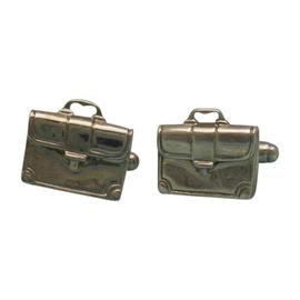 Tiffany & Co. Sterling Silver Briefcase Cufflinks