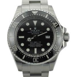 Rolex Sea Dweller Deep Sea 116660 Stainless Steel 44mm Mens Watch