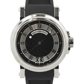 Breguet Marine Big 5817 Date Black Dial Rubber 39mm Mens Watch