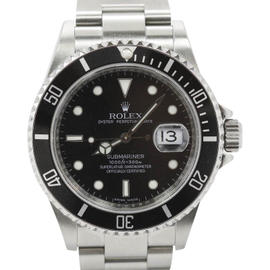 Rolex Submariner 16610 Alloy Bezel Stainless Steel 40mm Mens Watch