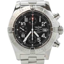 Breitling Avenger Chronograph A13380 Skyland Stainless Steel 44mm Mens Watch