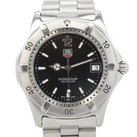 Tag Heuer Professional 200 Quartz WK1110-1 Stainless Steel Quartz 38mm Mens Watch