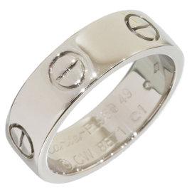 Cartier Love Platinum PT950 Ring Size 4.75