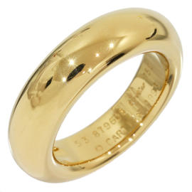 Cartier 18K Yellow Gold Band Ring Size 6.25