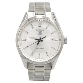 Tag Heuer Carrera Caliber 5 WV211A-3 Stainless Steel Automatic 39mm Mens Watch