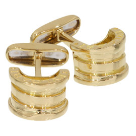Bulgari 18K Yellow Gold B.zero Cufflinks