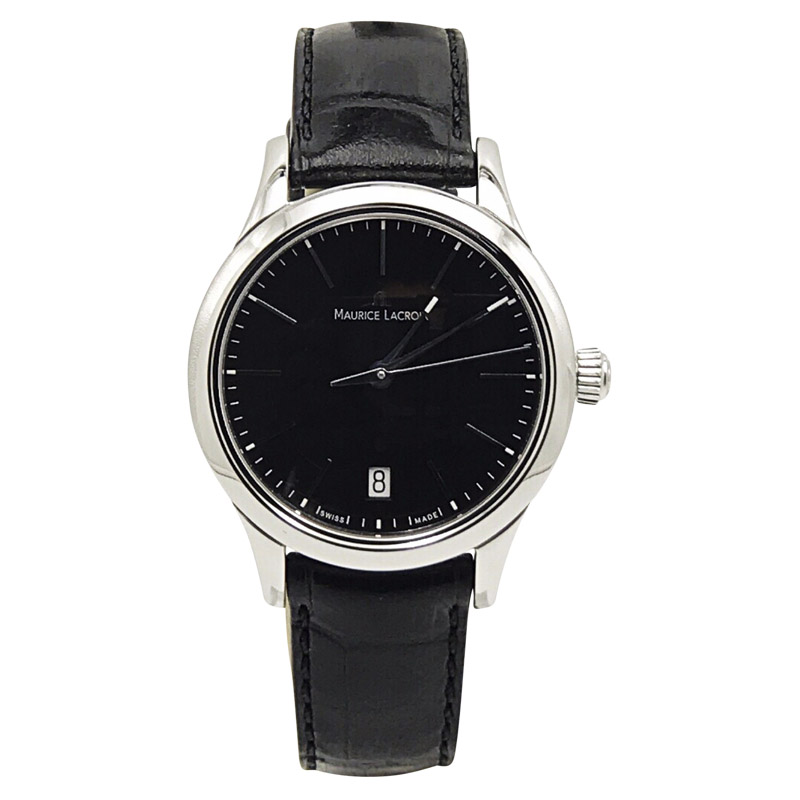 """Image of """"Maurice Lacroix Les Classiques Lc1113-Ss001-330 Stainless Steel &"""""""