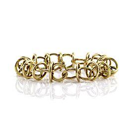 Tiffany & Co. Paloma Picasso 18K Yellow Gold Circle Link Bracelet