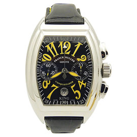 Franck Muller King Conquistador 8005 CC Stainless Steel 46mm Mens Watch
