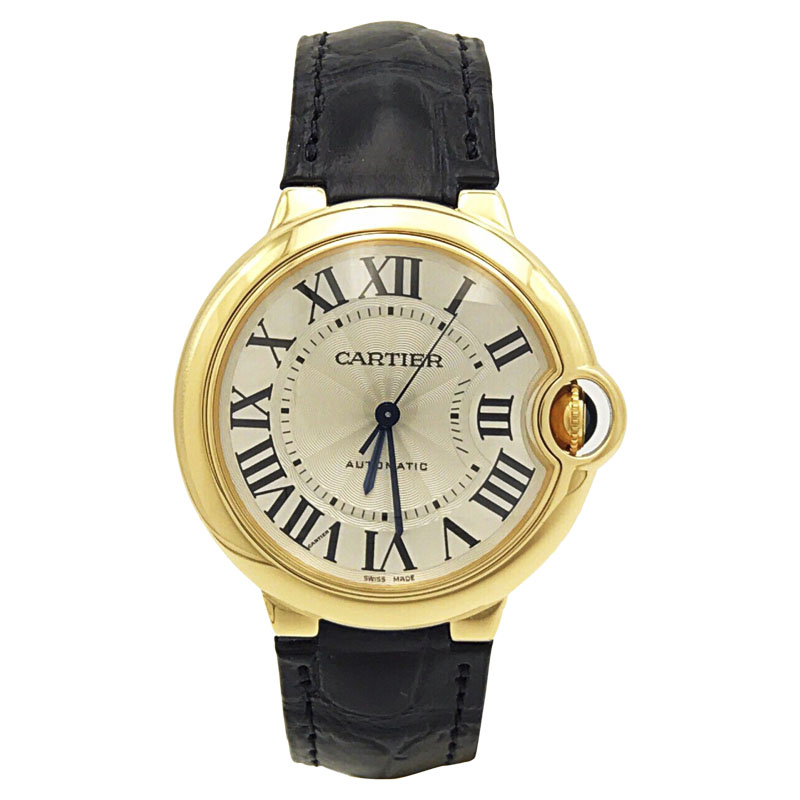 Cartier Ballon Bleu W6900456 18K Yellow Gold Automatic 37mm Unisex