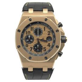 Audemars Piguet Royal Oak Offshore 26470OR.OO.A002CR.01 18K Rose Gold 42mm Mens Watch