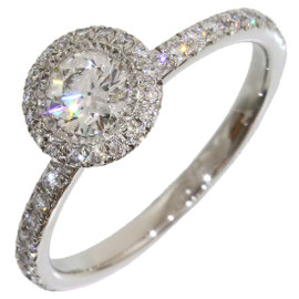 Piaget Pt950 Platinum 0.31ct Diamond Passion Band Ring Size 4.75