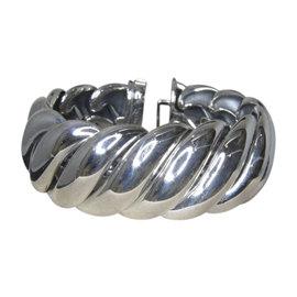David Yurman 925 Sterling Silver Hampton Cable Bracelet
