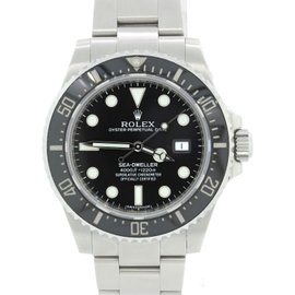 Rolex Sea-Dweller 116600 Stainless Steel & Black Dial 40mm Mens Watch