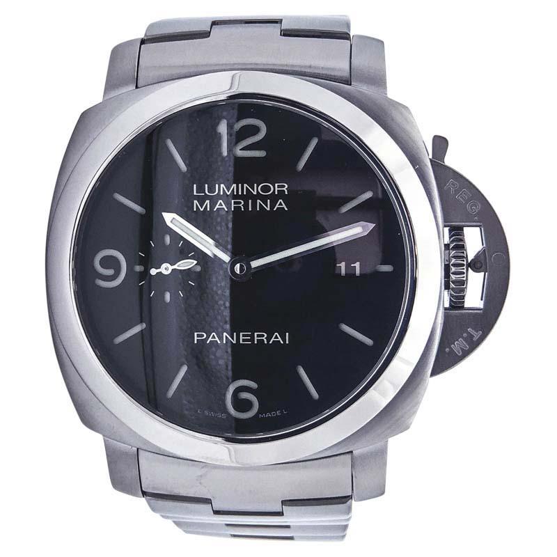 "Image of ""Panerai Luminor 1950 PAM 328 Stainless Steel Automatic Bracelet 44.5mm"""