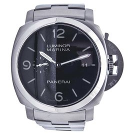 Panerai Luminor 1950 PAM 328 Stainless Steel Automatic Bracelet 44.5mm Mens Watch